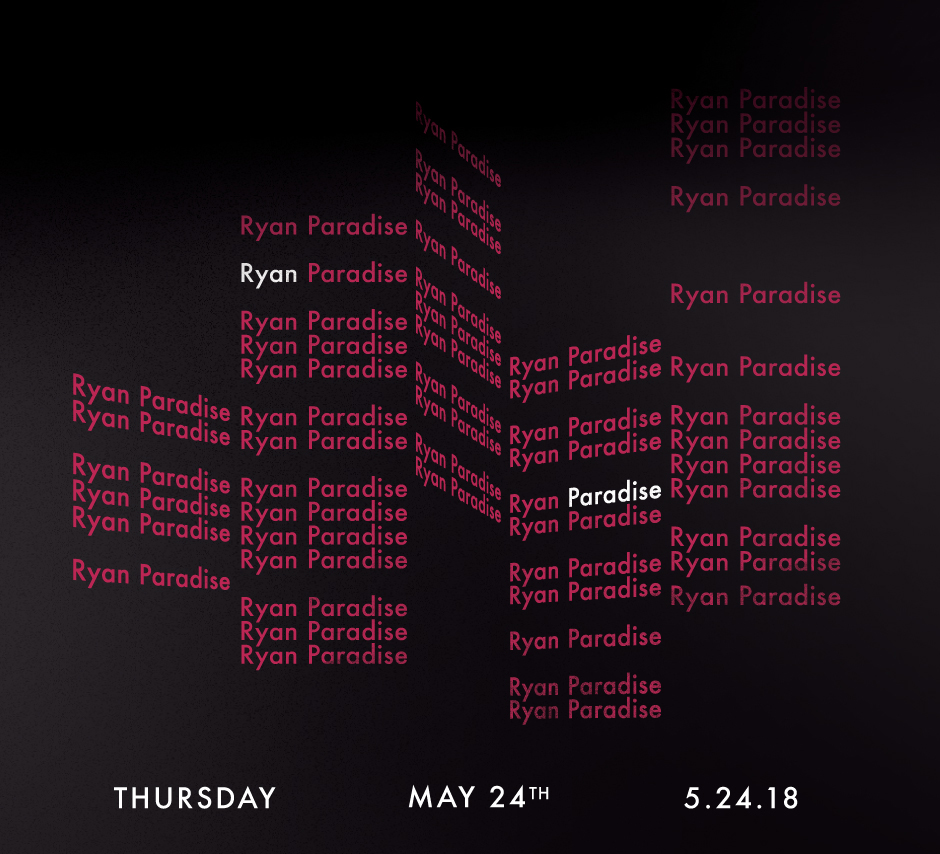 See Details for Ryan Paradise at Studio Paris