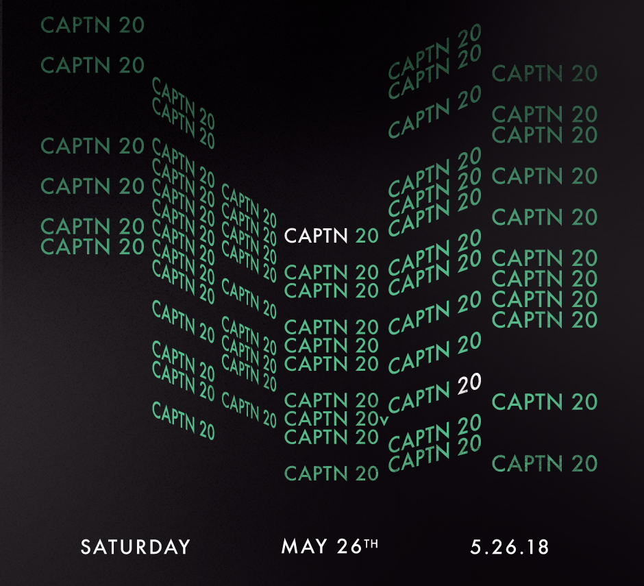 See Details for CAPTN 20 at Studio Paris