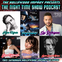 The Night Time Show with Stephen Kramer Glickman, Jai Rodriguez, Kevin McHale, Jenna Ushkowitz, Jamie Campbell Bower, Milana Vayntrub & A Starship Troopers Reunion!
