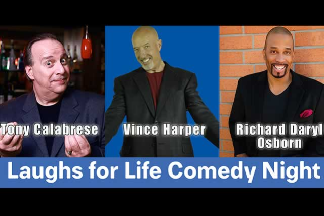 Laughs For Life Comedy Night