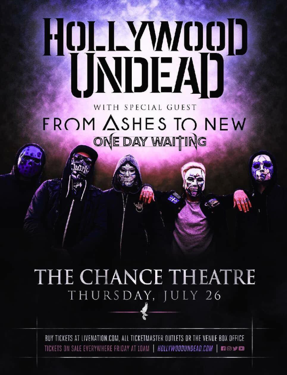 Hollywood Undead, www hollywoodundead com, From Ashes