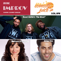 Comedy Juice, Melissa Villaseñor, Adam Ray, Jeremiah Watkins, Jamar Neighbors, Willie Hunter