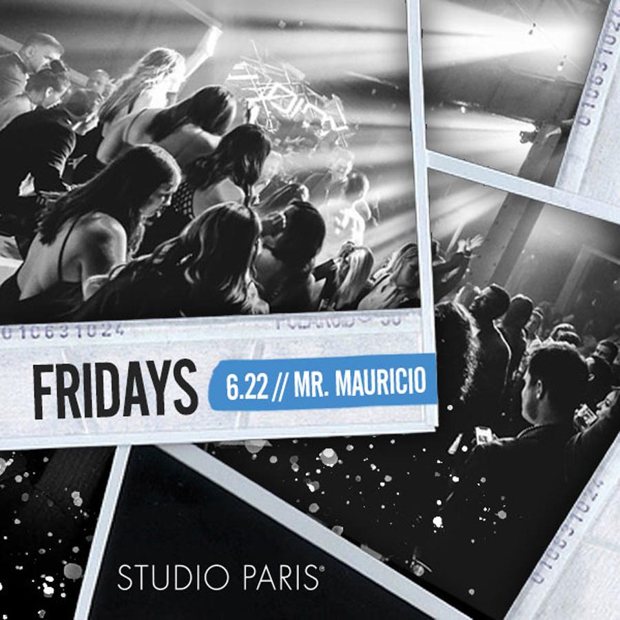 Mr. Mauricio at Studio Paris