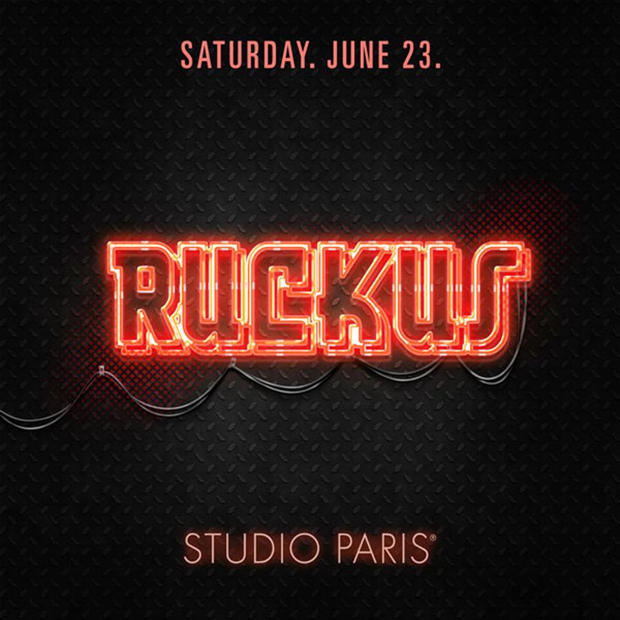 DJ Ruckus at Studio Paris
