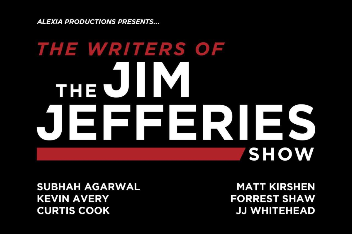 the writers of the jim jefferies show at hollywood improv 8470635