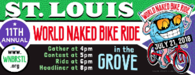 Tickets For World Naked Bike Ride 2018 Ticketweb Atomic Cowboy