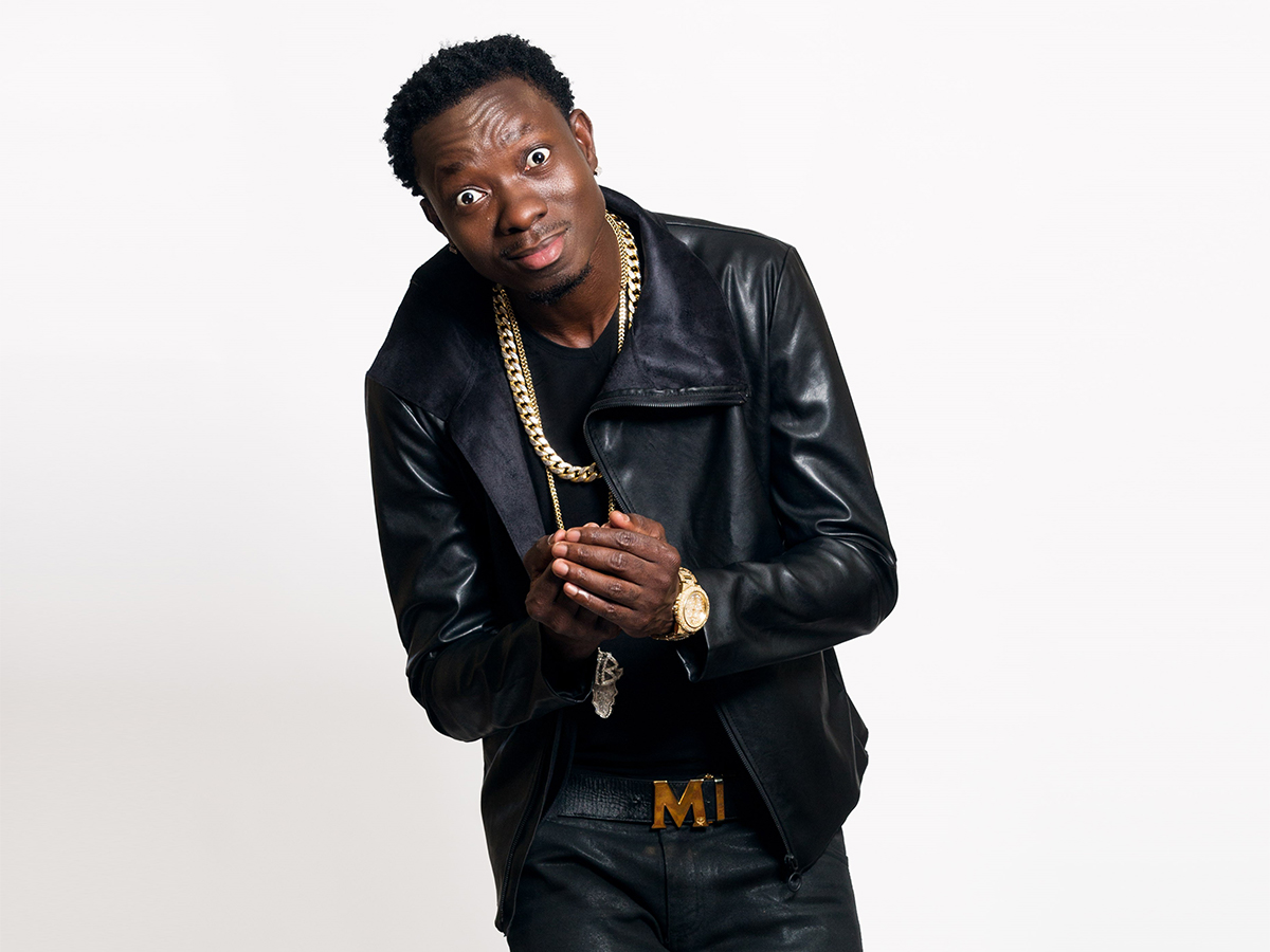 The 45-year old son of father (?) and mother(?) Michael Blackson in 2018 photo. Michael Blackson earned a  million dollar salary - leaving the net worth at 2 million in 2018