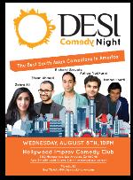 Desi Comedy Night with Richard Sarvate, Abhay Nadkarni, Ramsey Badawi, Zahra Ali, Ehsan Ahmad & more!