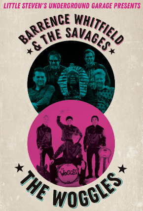 Tickets For Barrence Whitfield The Savages The Woggles