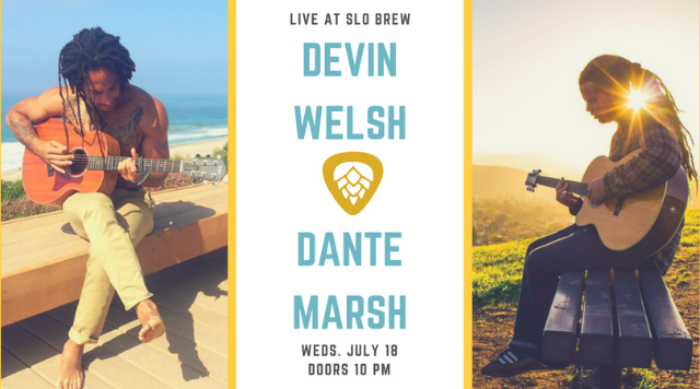 Devin Welsh and Dante Marsh at SLO Brew & Tickets for Devin Welsh and Dante Marsh at SLO Brew | TicketWeb ...