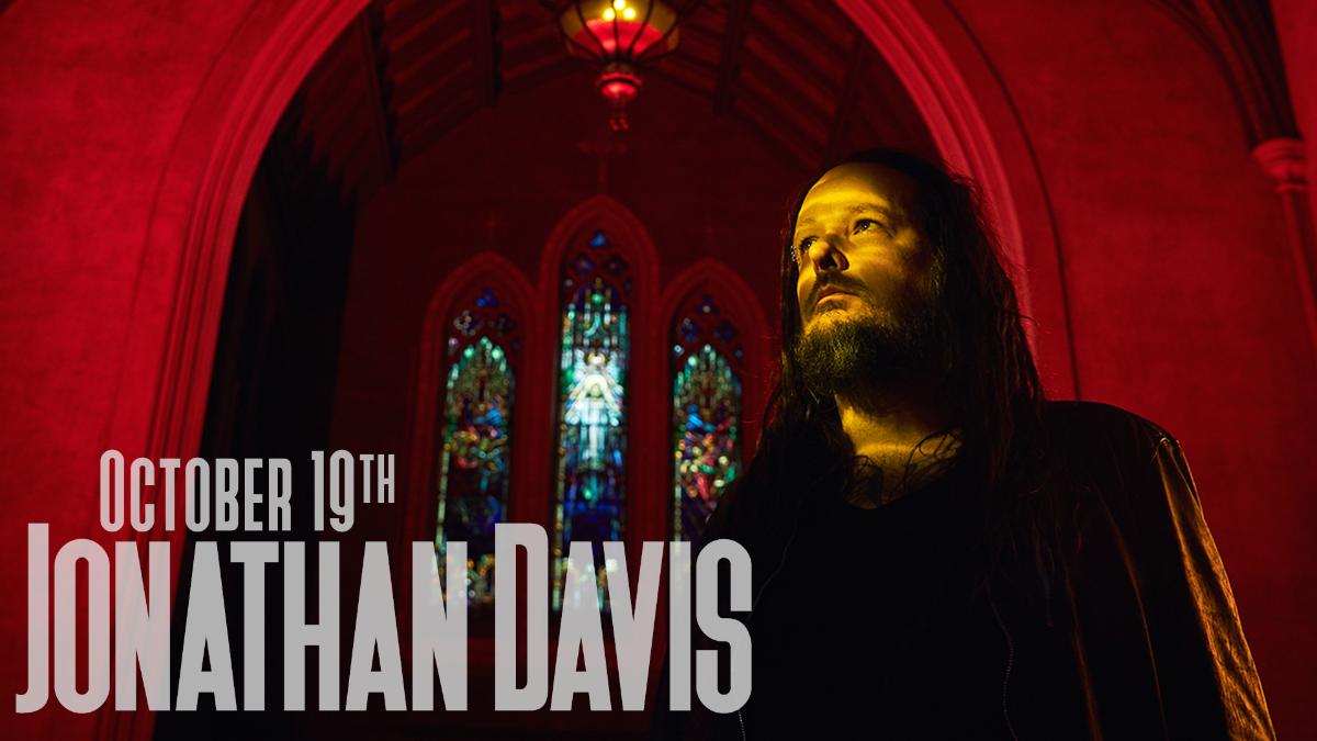 Jonathan Davis Of Korn Black Labyrinth Tour 2018