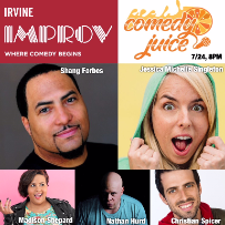 Comedy Juice, Shang Forbes, Jessica Michelle Singleton, Christian Spicer, Nathan Hurd, Madison Shepard
