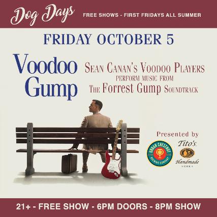 Voodoo Gump - FREE SHOW!