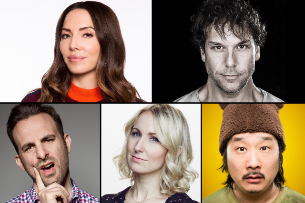 Dane Cook, Whitney Cummings, Bobby Lee, Nikki Glaser, Brian Monarch and very special guests