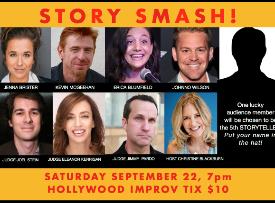 Story Smash The Storytelling Gameshow with Jimmy Pardo, Jenna Brister, Eleanor Kerrigan, Johnno Wilson, Christine Blackburn and more!