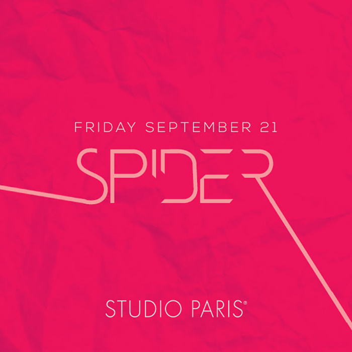 See Details for DJ Spider at Studio Paris