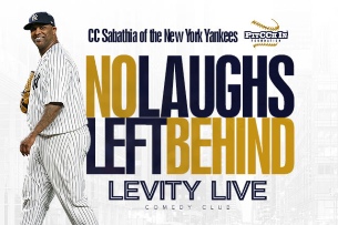 """No Laughs Left Behind"" Pitcch In Foundation Fundraiser with CC Sabathia"