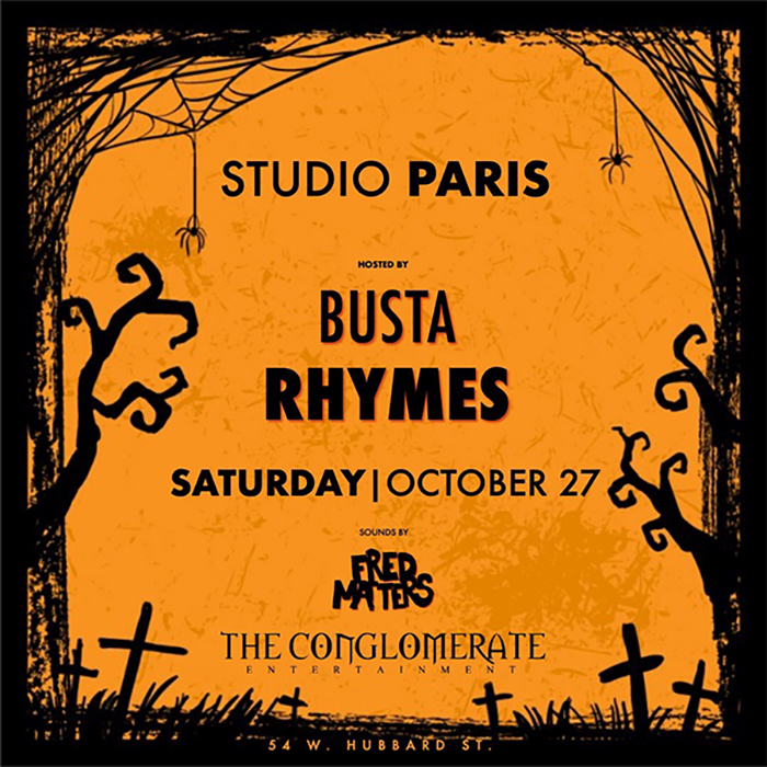 See Details for Halloween Party With Busta Rhymes at Studio Paris