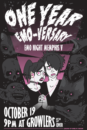 how to find emo friends