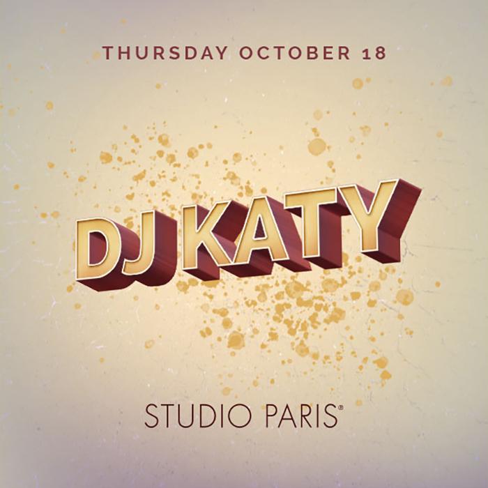 See Details for DJ Katy at Studio Paris