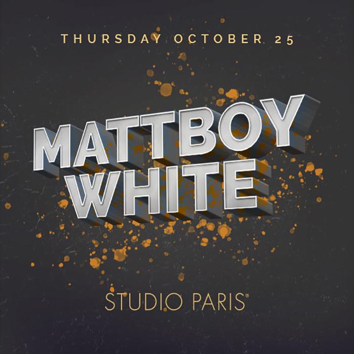 See Details for MattBoyWhite at Studio Paris