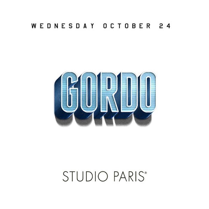 See Details for Gordo at Studio Paris