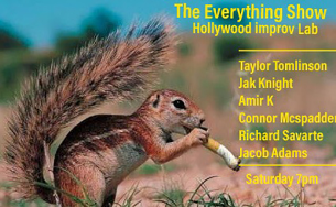 The Everything Show with Jacob Adams. Amir K, Taylor Tomlinson, and more!