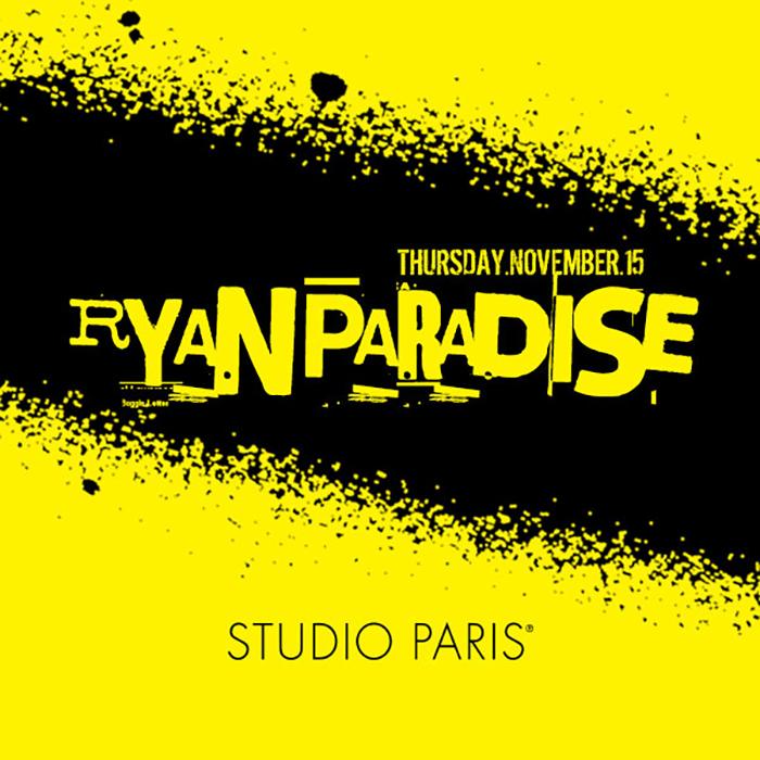 See Details for Ryan Paradise at Studio Paris