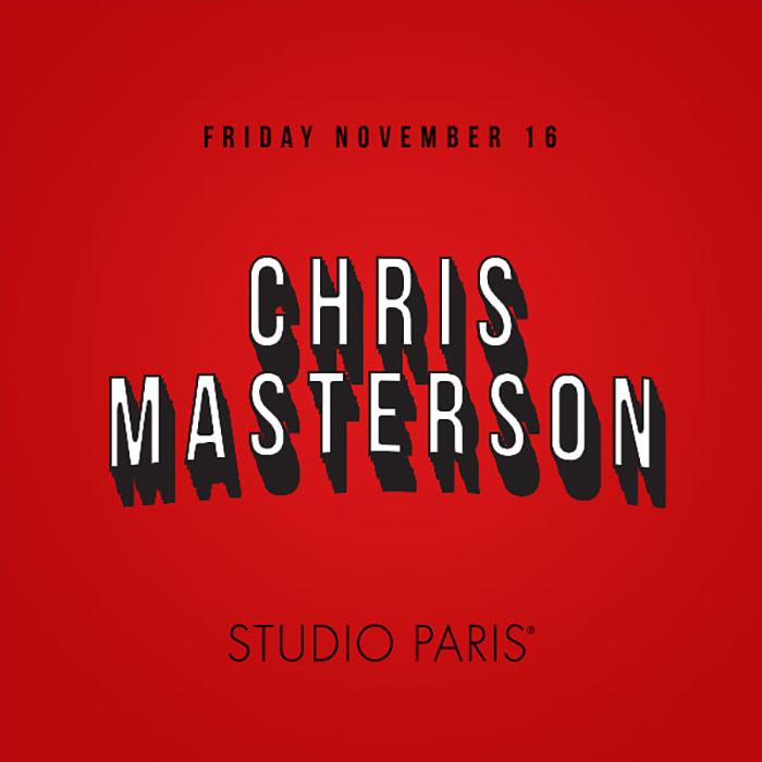 See Details for Chris Masterson at Studio Paris