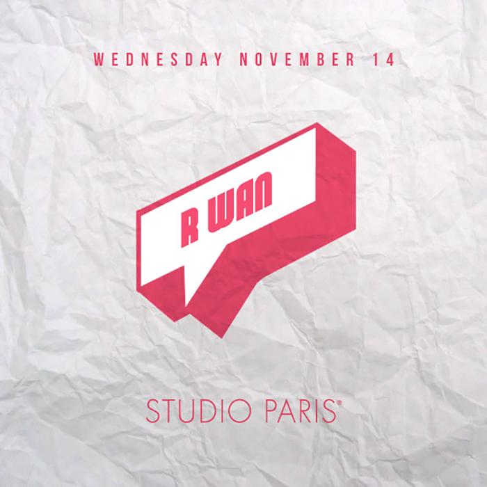 See Details for R Wan at Studio Paris