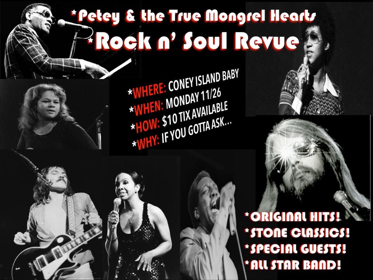 Petey & the True Mongrel Hearts Rock n' Soul Revue with Storytown