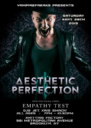 Tickets For Aesthetic Perfection