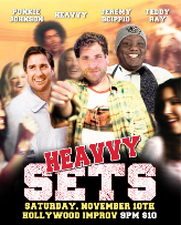 Heavvy Sets with Teddy Ray, Punkie Johnson, Jeremy Scippio, and more!