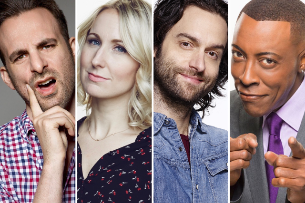 Chris D'Elia, Arsenio Hall, Nikki Glaser, Brian Monarch & a Special Guest!