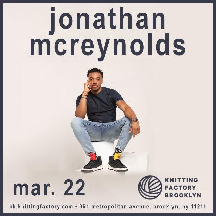 Jonathan Mcreynolds Makemoreroomtour