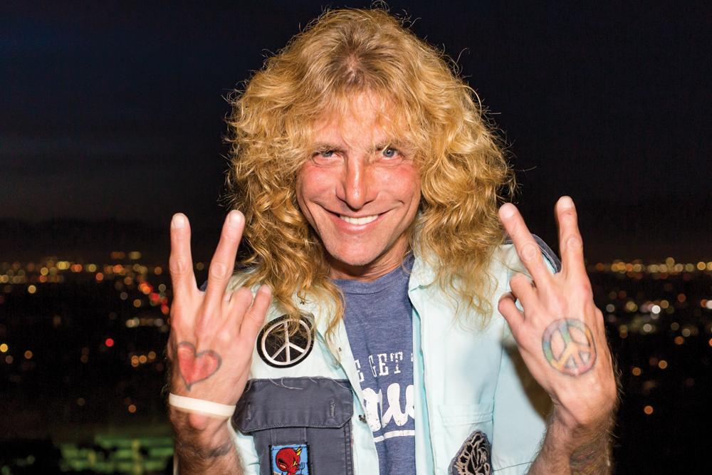 Steven Adler of Guns N' Roses (original member)