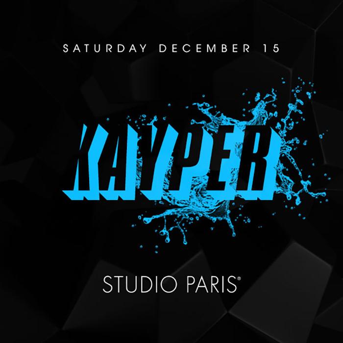 Kayper at Studio Paris
