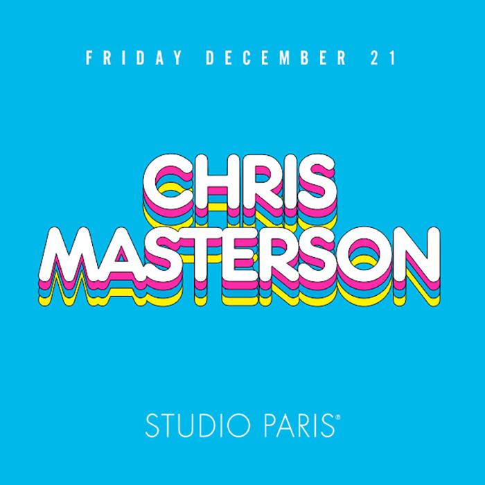 Chris Masterson at Studio Paris