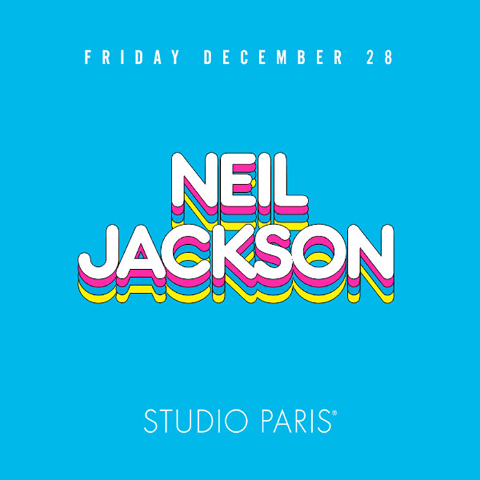 Neil Jackson at Studio Paris