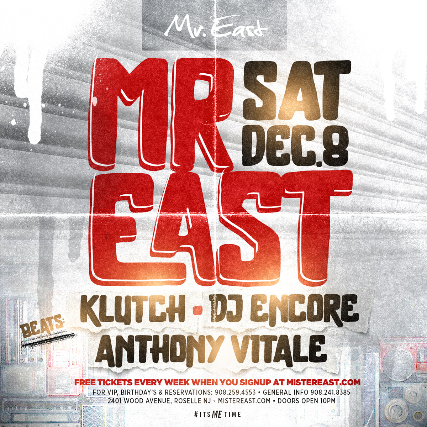 Tickets For Me Saturdays Dj Klutch Encore Anthony Vitale