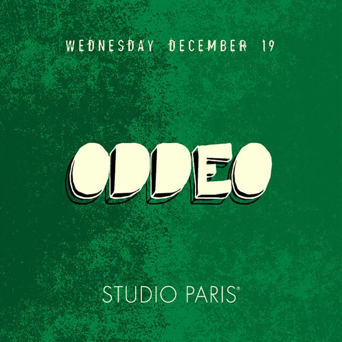 Oddeo at Studio Paris