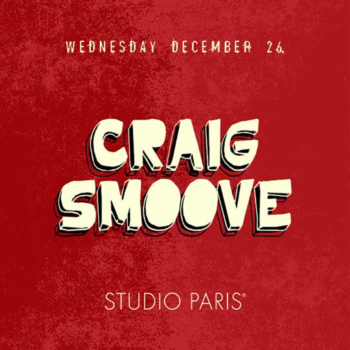 Craig Smoove at Studio Paris