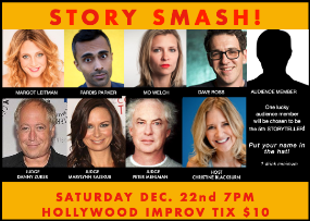 Story Smash! Competitive Storytelling at its Best! with Christine Blackburn and more!