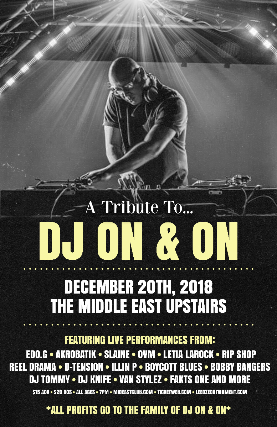 Tickets For Dj On On Tribute Ticketweb Middle East Upstairs
