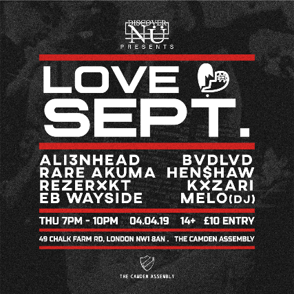 Tickets For LOVE SEPT