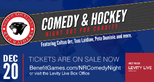 North Rockland Red Raiders Comedy & Hockey Night Out for Charity