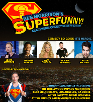 Superfunny! with Kate Quigley, Kurt Metzger, Ben Morrison and more TBA!