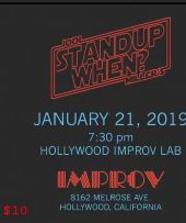 Stand-Up When? STAR WARS W/ Jodi Miller, Dwayne Perkins, Justin Martindale, Shawn Pelofsky, Karen Forman, Lachlan Patterson, Ben Morrison and more!