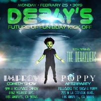 Improv Presents: MONDERAYS with Deray Davis, Aida Rodriguez, Malik S. Howie Bell & more!