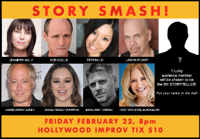 Story Smash! Competitive Storytelling at its Best! with Christine Blackburn, Danny Zuker, Matt Oswalt, Hayley Orrantia, Jennifer Valley, Jason Stuart,Teresa Lo, and more!